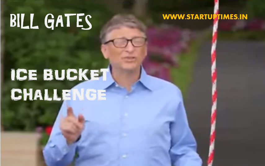 Bill Gates Accepts Ice Bucket Challenge