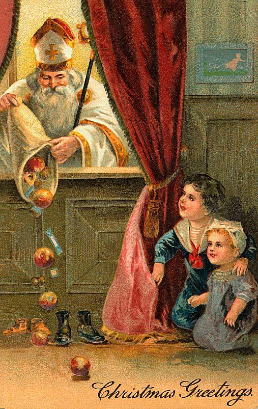 Hill shepherd december 6th is saint nicholas day