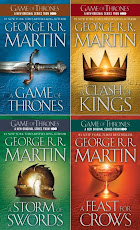 BUY ALL YOUR GEORGE R. R. MARTIN BOOKS TODAY!