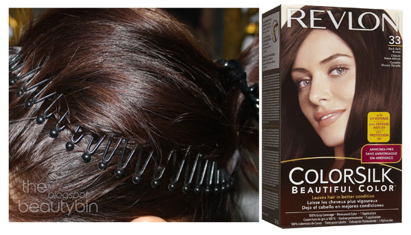 Revlon Colorsilk Dark Soft Brown 33  The Beauty Bin