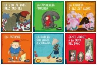 Llibres infantils col·lecció contes desexplicats