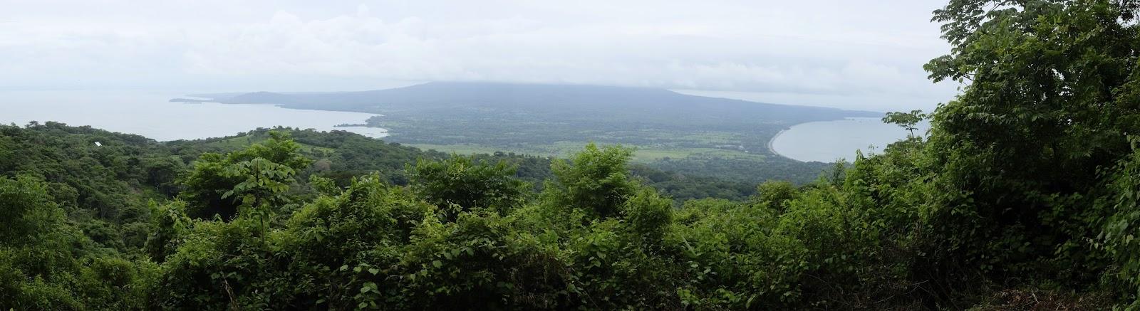 vue du volcan Maderas