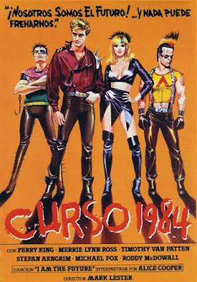 Curso 1984, Class of 1984, Mark L. Lester, Michael J. Fox, Perry King, Roddy McDowall, Timothy Van Patten