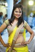 Aswi Glamorous Photos in Half Saree-thumbnail-17