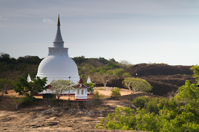 photographs from the temple at Thanthirimale - Anuradhapura, Sri Lanka