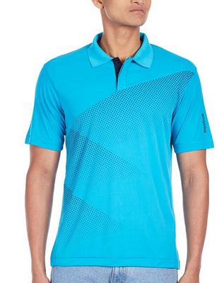 Buy Reebok Men's Polyester Polo worth Rs 1599 for Rs.799 at Amazon : BuyToEarn