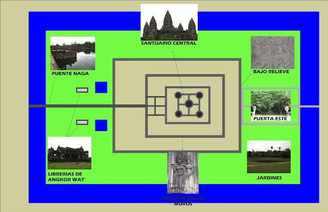 Mapa-de-Angkor-Wat