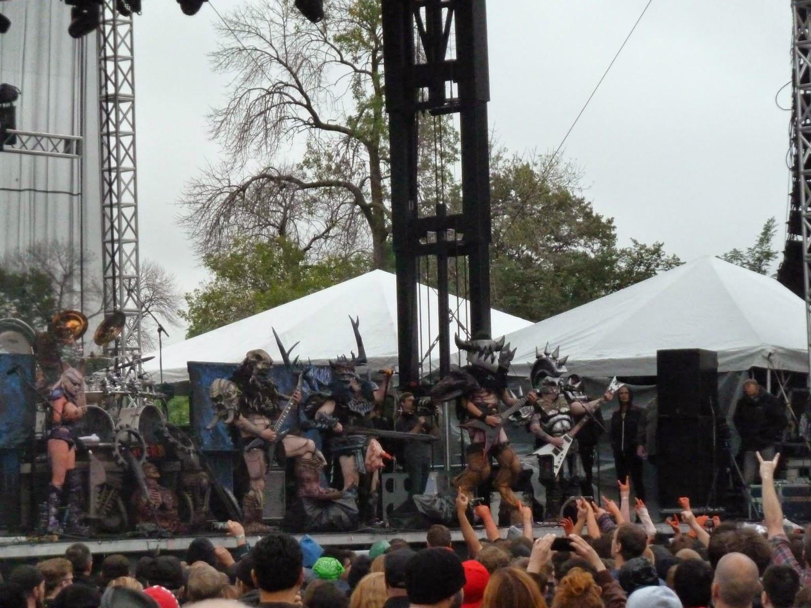 Riot Fest Chicago Gwar