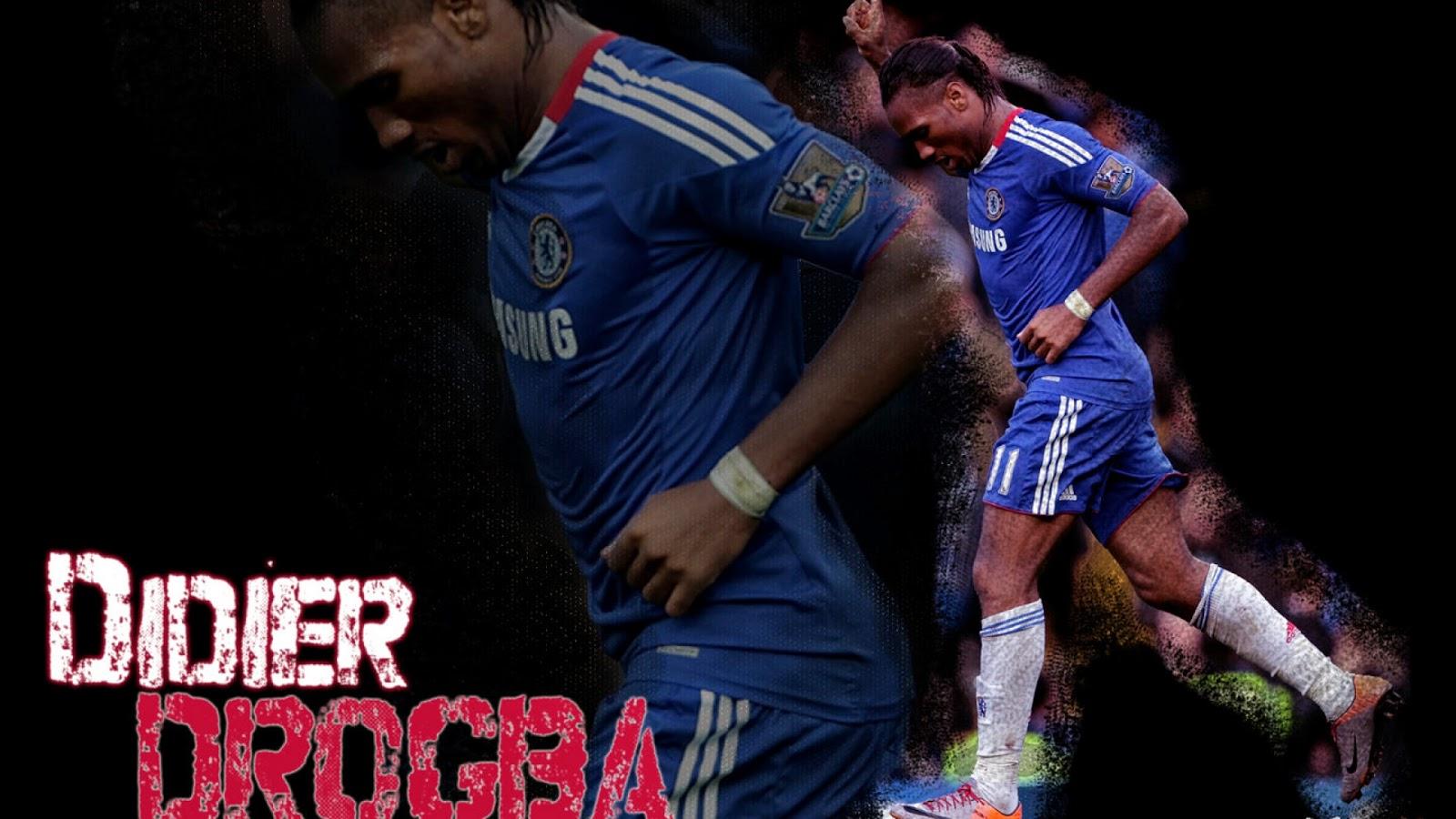Chelsea Wallpaper Didier Drogba