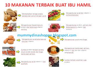 10 MAKANAN TERBAIK BUAT IBU HAMIL - Pengedar Shaklee Sah ...