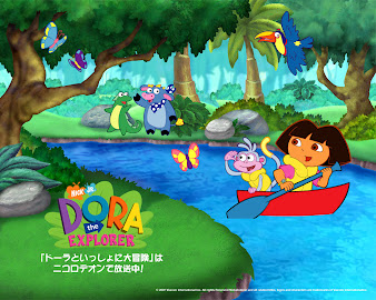 #4 Dora The Explorer Wallpaper