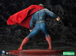 Kotobukiya Man of Steel prototype figures premier first look exploders speed flyers Movie Masters 2013 Mattel Play Arts Kai Square Enix toy Commercials Exploders Speed Flyers Leaked Spoilers Mattel Zod Robot Army Black Zero Spaceship FlightSpeeders Stretchy Figures Henry Cavill Superman Man of Steel Movie Masters Action Figures Mattel MattyCollector 2013 NYCC 2012 Dark Knight Rises Rah's Al Ghul Batsignal