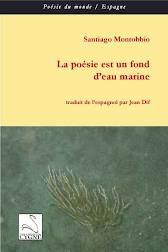 La posie est un fond d&#39;eau marine