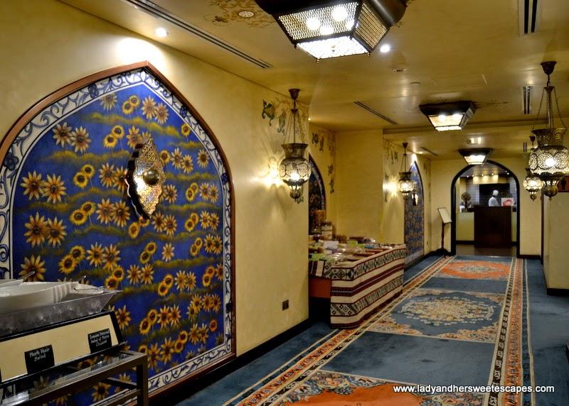 Shabestan Persian restaurant at Radisson Blu Dubai