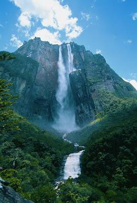 Parque Nacional Canaima en Venezuela - Cascadas impresionantes - Waterfalls