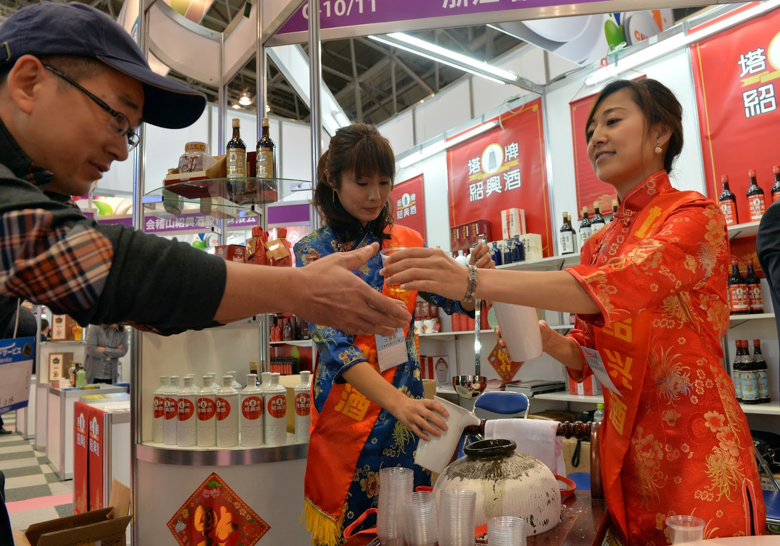 Annual, Business, Caroline Kennedy, Chiba, Diplomacy, Economy, Food, Food Exhibition, Foodex, Foodex Japan, Japan, Perky Jerky, Stall, Tokyo, Trade Show, Trans-Pacific Partnership-TTP, Turkey, US,