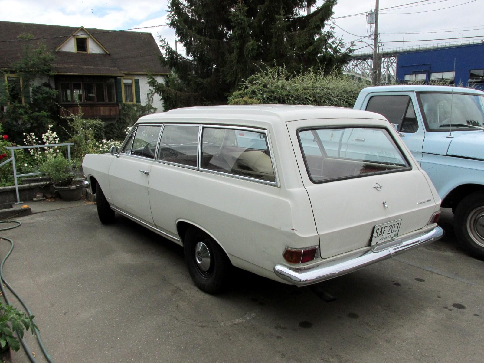 Seattles classics 1965 opel rekord 1700 wagon 1965 opel rekord 1700 wagon sciox Choice Image