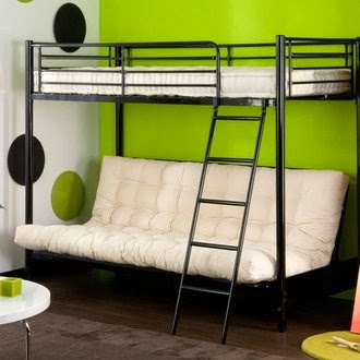 le blog de la literie et du sommeil le lit suspendu une. Black Bedroom Furniture Sets. Home Design Ideas