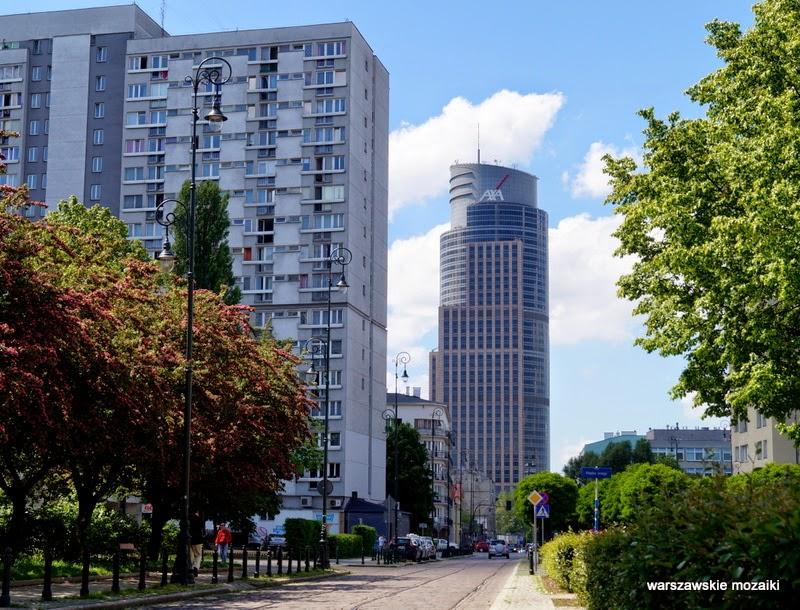 Wola kamienica tory kładka getto Warszawa warszawskie mozaiki