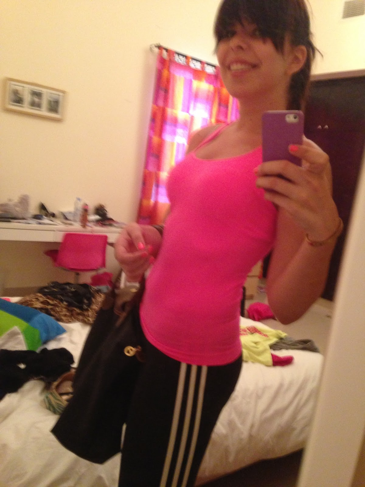 Off To The Gym!
