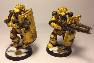 Pre-Heresy Imperial Fists Breacher Squad