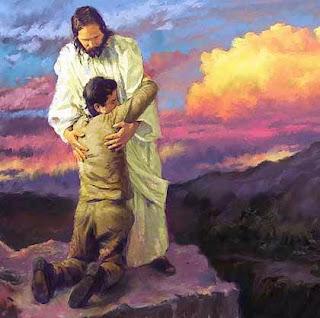 Jesús ayudando