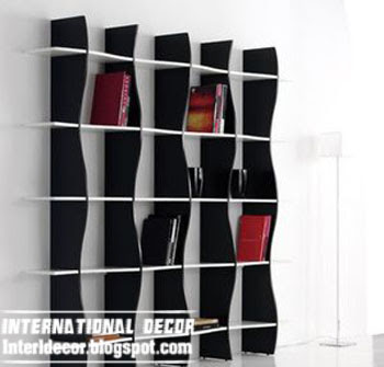 modern wall shelves, shelves unit, modern bookshelf, Italian shelves designs
