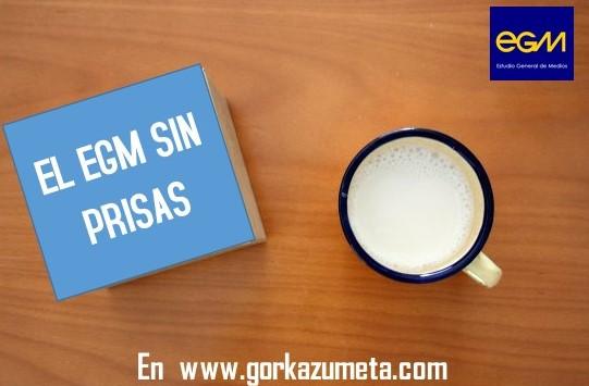"""21-M: VUELVE """"EL #EGM SIN PRISAS"""""""