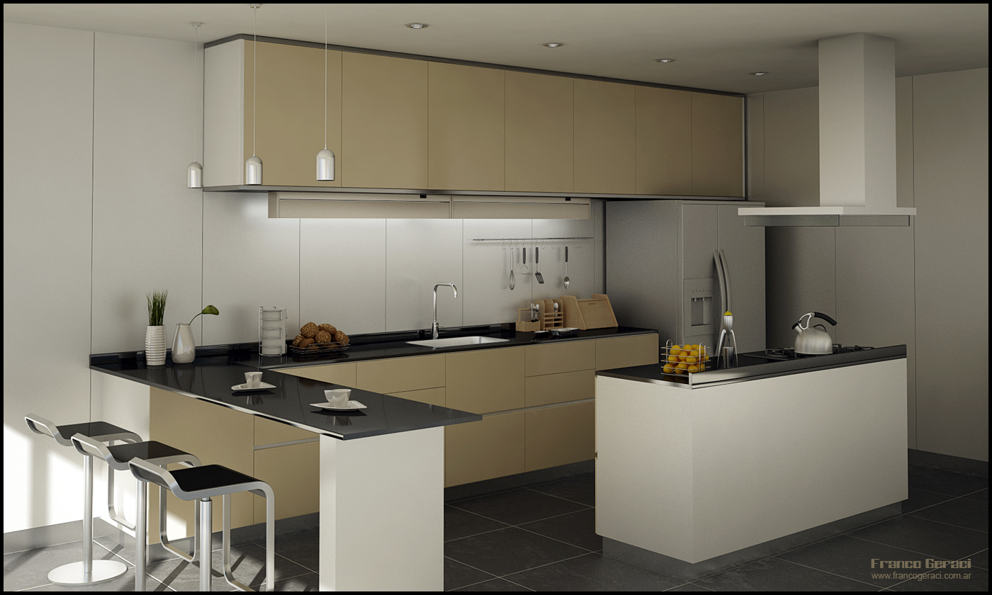 3d movie image 3d kitchen for Kitchen kitchen