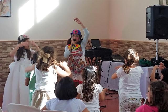 Comunión en Sanlúcar de Barrameda con Isabel Camiña