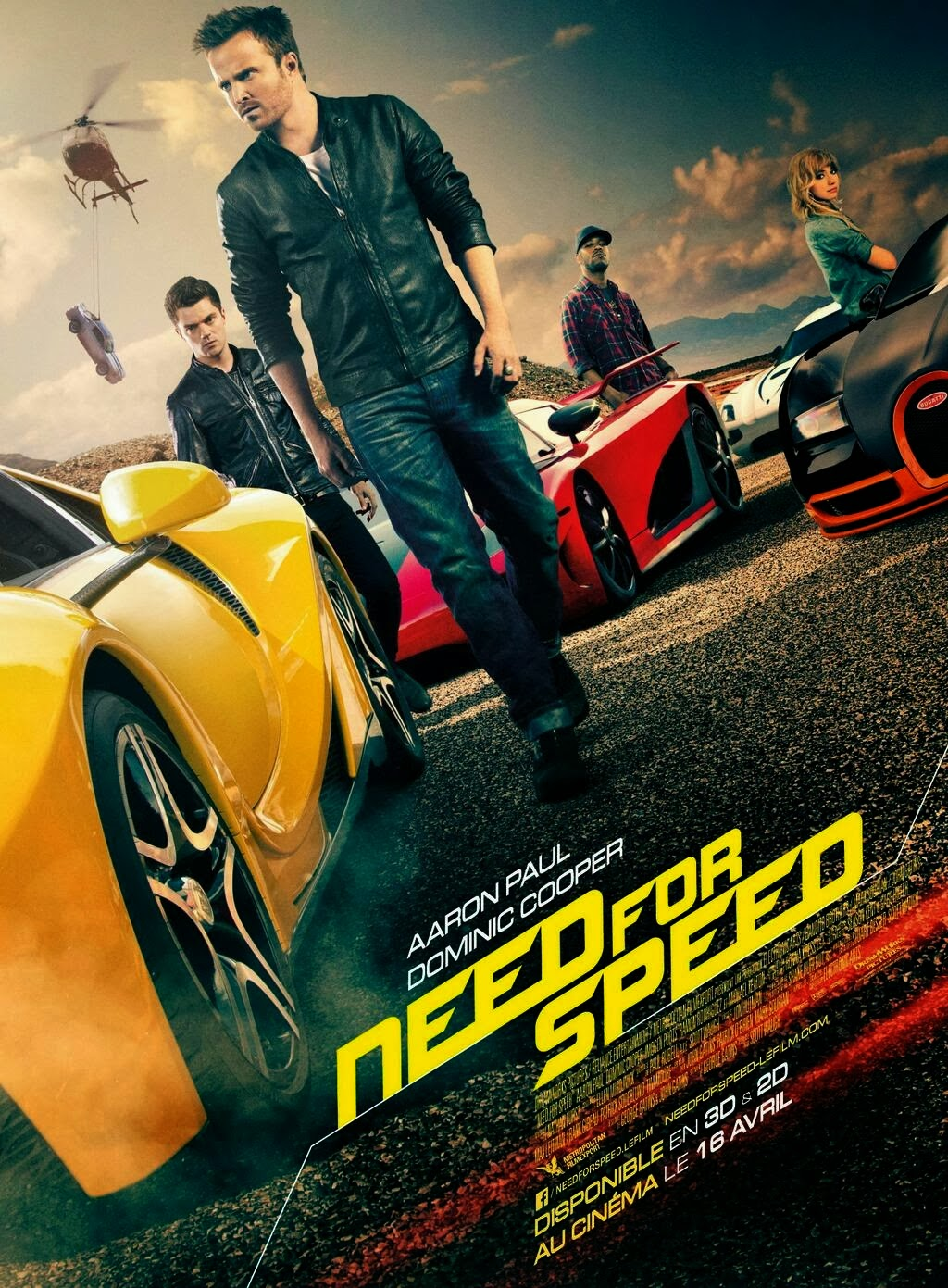 Need For Speed: La Pelicula 2014 [DvDRipAudioLatino][Acci�n]