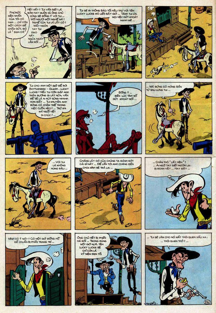 TruyenHay.Com - Ảnh 30 - Lucky Luke Tập 25 - Nhện Chân Dài