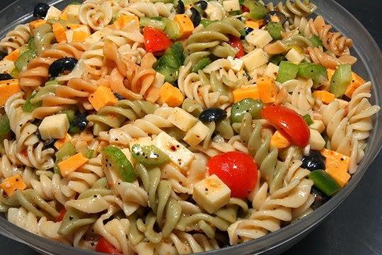 Pasta Salad (salade de pâtes )