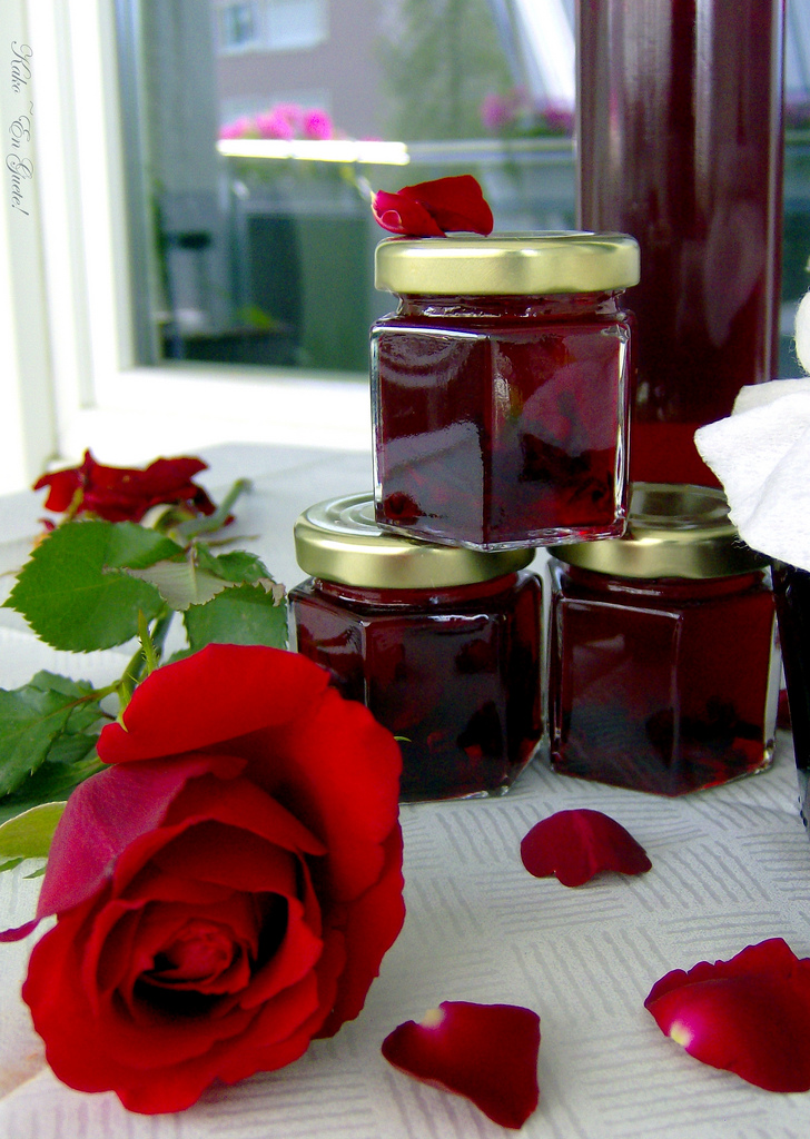 mermelada mermelada de rosas