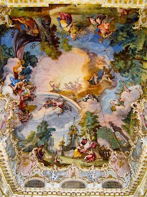 Frescos de la Gran Sala del Palacio de Nymphenburg