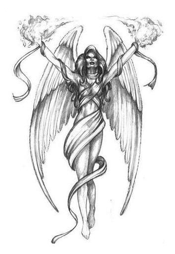 angel and fairy tattoo design motif best blog