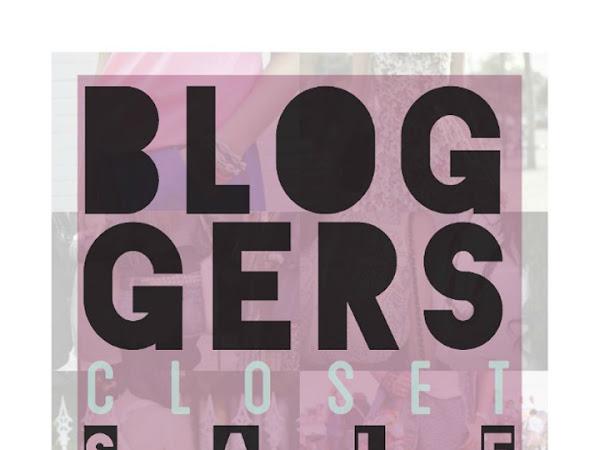 Bloggers Closet Sale