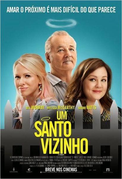 """Poster do filme """"Um Santo Vizinho"""""""