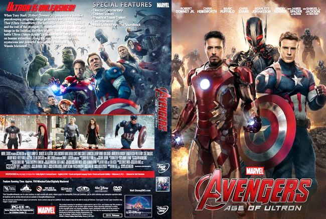 The Avengers: Age of Ultron – Latino – Final – DVD9