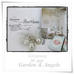 "Give away hos ""Garden & angels"""