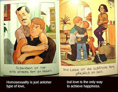 comic de niños sobre relaciones gays