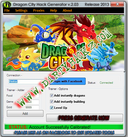 Dragon City C h eats - Hack Generator v.2.03 Release 2014