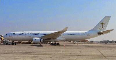 """Ternyata Ini """"Rahasia"""" di Balik Pendaratan Pesawat Saudi Airline di Bandara Ben Gurion Israel"""
