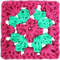 Granny Square Básico - Ahuyama Crochet