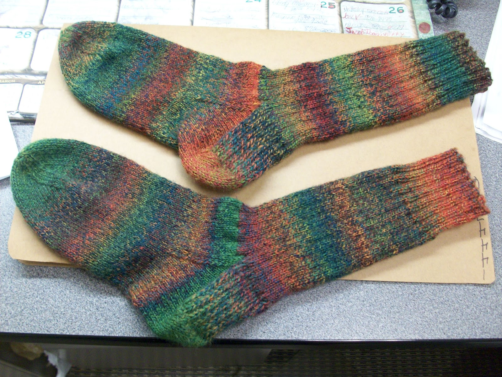 Free Knitting Pattern For Kroy Socks : Karens Knitting: Kroy socks