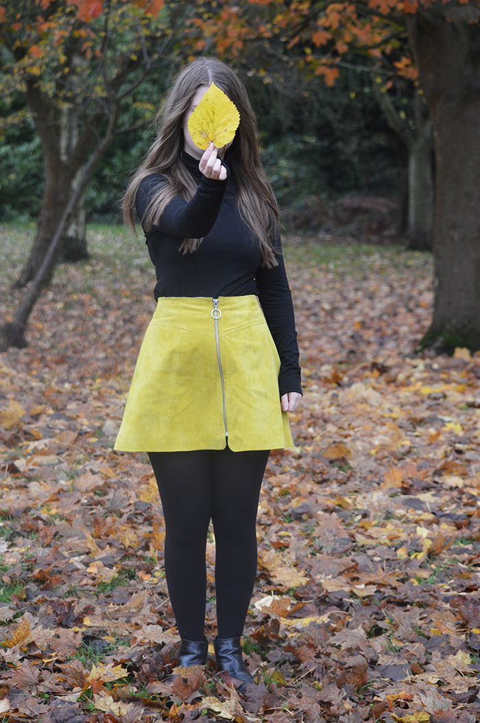 asos yellow skirt fashion bloggers
