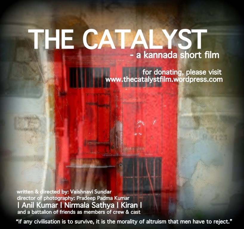 The Catalyst, Movie Poster, A Short Film by Vaishnavi Sundar