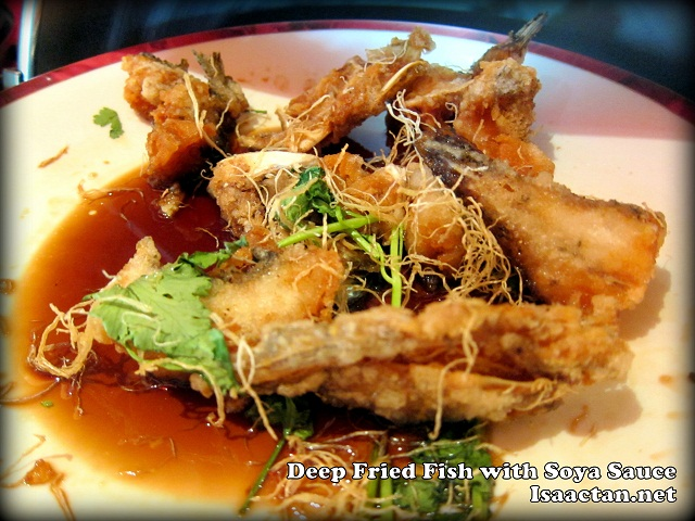 Deep Fried Fish with Soya Sauce