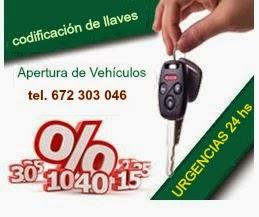 Cerrajero en Arroyo de la Miel abre coches