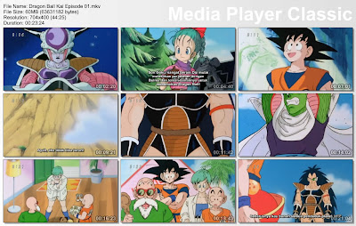 "Download Film / Anime Dragon Ball Kai Episode 01 ""Pertarungan Dimulai!"" Bahasa Indonesia"